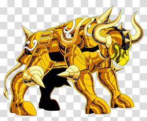 Saint Seiya: Knights of the Zodiac Taurus Aldebaran Leo Aiolia Pegasus Seiya, clean cloth PNG