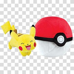 Pikachu Pokémon X and Y Poké Ball Plush, plush toys PNG