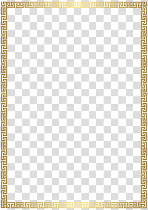 Rectangle Gold, Golden Deco Border , gold-colored frame illustation PNG clipart