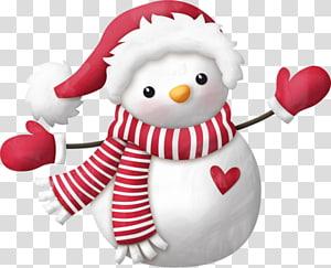 Olaf Santa Claus Candy cane Christmas Snowman, snowman PNG