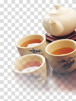 Green tea China Oolong Chinese cuisine, Tea set PNG