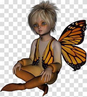 Fairy Lutin Elf, Fairy PNG