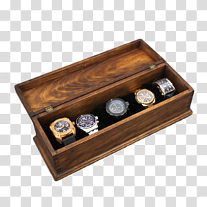 Wooden box Watch Wooden box Drawer, box PNG
