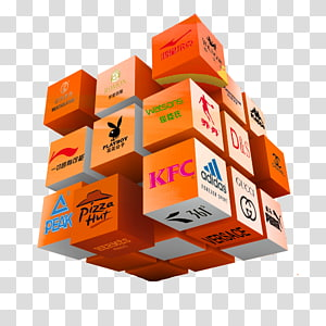 Trademark Brand Rubiks Cube, Trademarks Cube PNG clipart