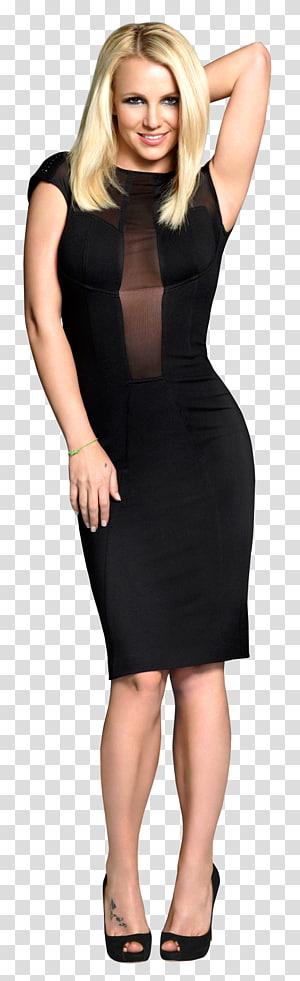 women's black dress , Britney Spears The X Factor (U.S.) Dress Fashion, Britney Spears PNG