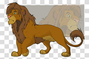 The Lion King Mufasa Cat Mammal, lion PNG clipart