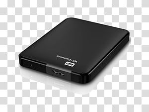 WD Elements Portable HDD Hard Drives Western Digital USB 3.0 My Passport, Mobile Hard Disk PNG