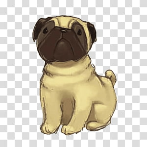 Pug Puppy Dog breed Companion dog Toy dog, puppy PNG